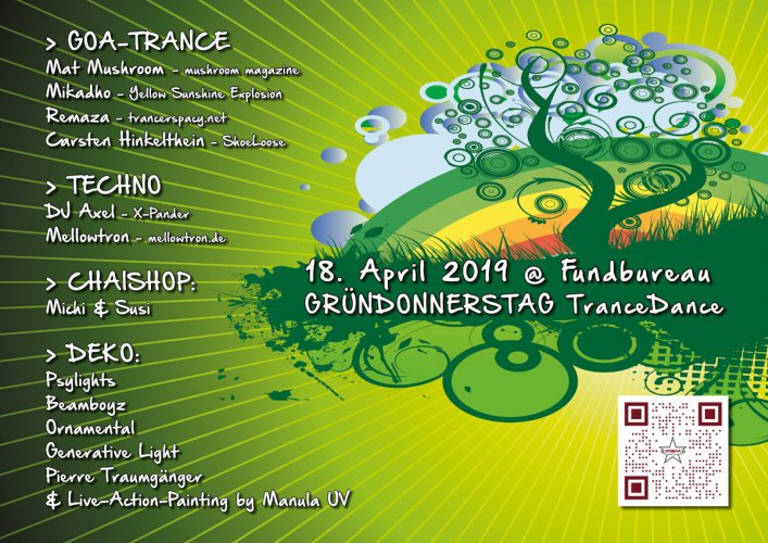 ATISHAs Trancedance Special Gründonnerstag