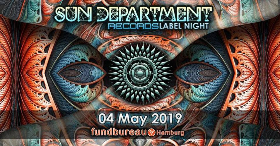 Sun Department Label Night